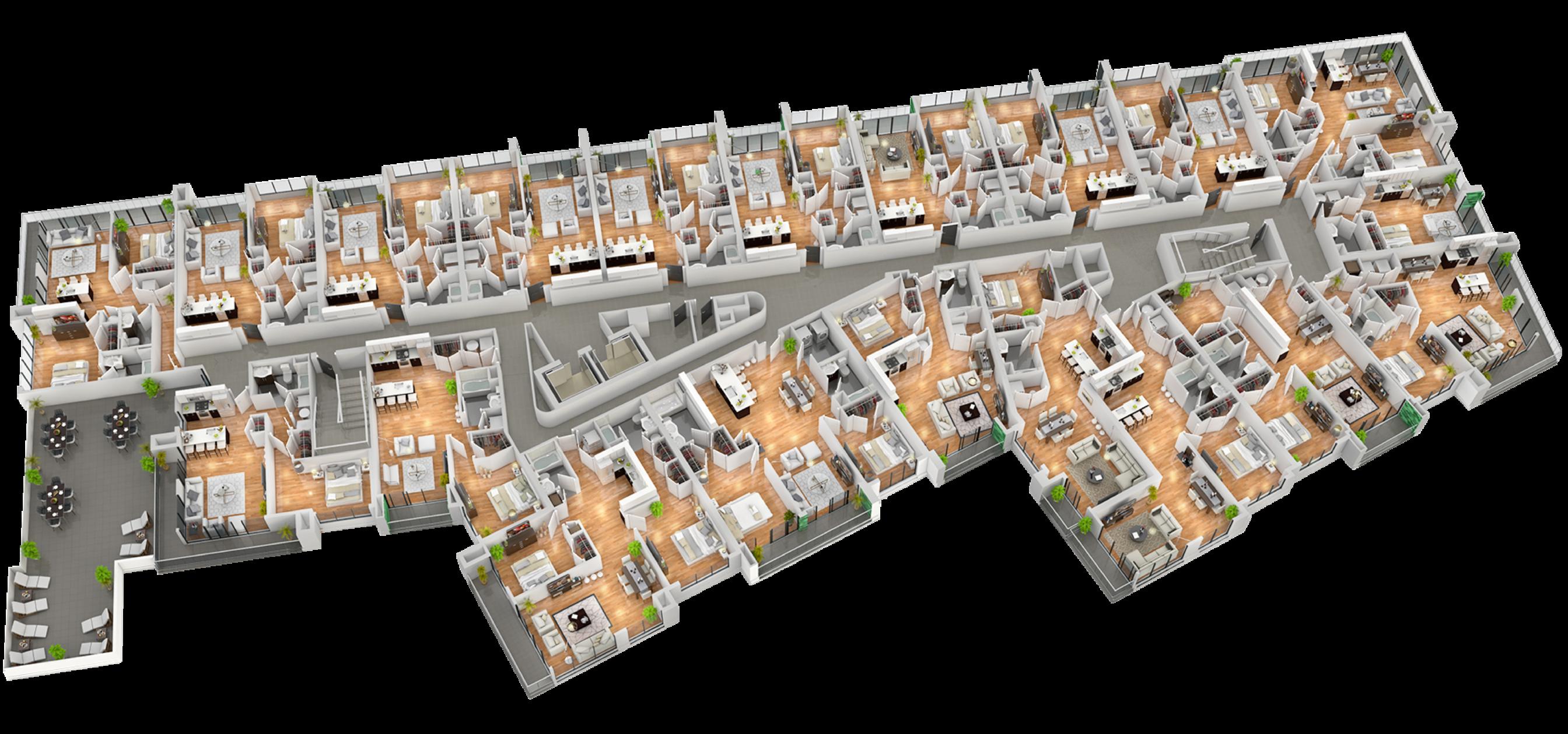 Liberty Square Building 1 Level 3 Floor Plan